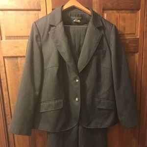 Woman's Gray Suit